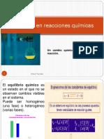 Equilibrio en reacciones quimicas 2017-1.pptx