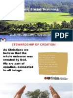 13 Stewardship and Care for Creation