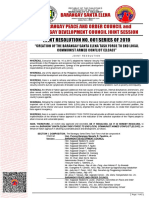 Bpoc - Bdc Joint Resolution No.001 s.2019
