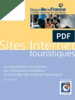 Enquete E TourismeIDF