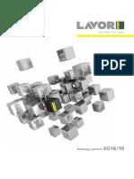 LAVOR PRO catálogo 2019