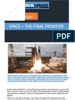 Space – The final frontier