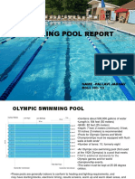 Swimming Pool Report