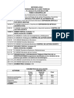 MODELO Cronograma Para Entrega Al Estudiante