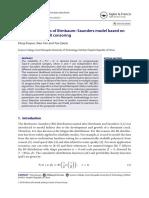 2019-Reliability Analysis of B-S Model Based on Progres Type II Censoring