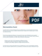 Electroestética Facial