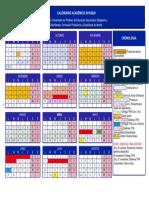 Calendario Academico 2019-20