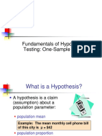 4. Hypothesis Testing