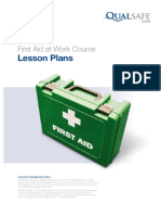 Qualsafe FAW 3 Day Lesson Plan
