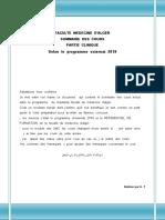 Sommaire Des Cours Residanat Alger (1)