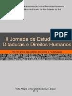 II Jornada de Ditaduras e Direitos Humanos