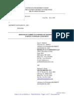 Johnsonville Sausage v. Klement Sausage - Def SJ Brief