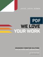 Human Workspace Catalogue 2019