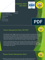 Sistem Manajamen Mutu (ISO9001) PPT