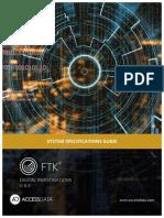 LIT FTK Specification Guide 6.3