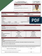 Mark Edison Cruz Santos - Application Form