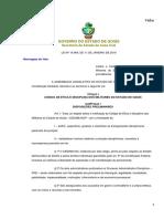 Código de Ética Do Estado de Goiás (Lei Nº 19.969)