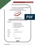 ACTIVIDAD N° 02_ PARAMETROS DE DISEÑO GEOMETRICODE CARRETERAS
