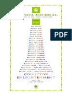 Collective Enlightment Spanda Journal VII,1 2017