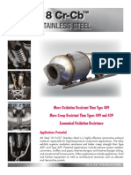 18Cr-Cb Stainless Steel