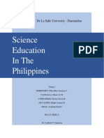 Science Education in the Philippines