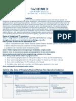014000 01095 Flyer Ankle Sprain Rehabilitation Pt Guideline
