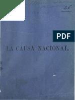 la causa Nacional