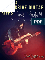 Essential Percussive Guitar Riffs [Volume One]