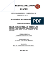 Esfuerzos Por Gravedad en Muros de Albañileria Confinada de Un Edificio de 5 Niveles Considerando Como Piso Losa Masisa y Losa Aligerada en Una Dirección