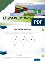 isotopos de hidrgeno
