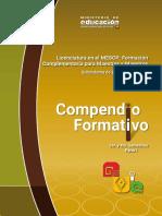 Compendio Formativo PROFOCOM