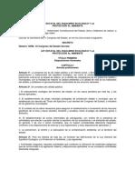 Ley Estatal Equilibrio Ecologico Proteccion Jalisco