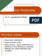 Mind Body Relationship