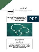 curso enseñanza bilingue primaria secundaria