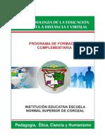 Modulo Metodologia Abierta a Distancia y Virtual Normal Superior de Corozal 2013