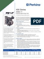 Perkins 400 Series 403D-11