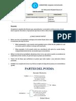 Guía Sobre Poema y Figuras Literarias.