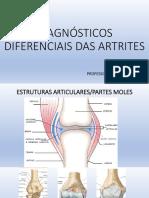 Diagnosticos diferenciais de Artrites