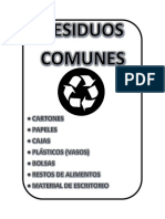 Residuos de Bioseguridad Fichas