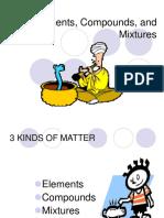 940 Elements Compounds Mixtures