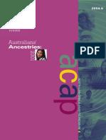 Australians' Ancestries