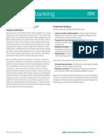 Banking Corporate Global Industry Primer(1)