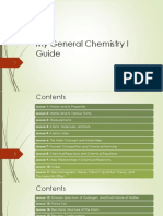My General Chemistry I Guide