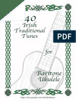 Irish Traditional Tunes for Baritone Uke