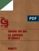 Gerhard Von Rad - La Sapienza In Israele.pdf