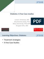 Diabetes Case Studies