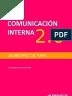 E Book Comunicacion Interna 2.0 Un Desafio Cultural Version 0.1 Formanchuk