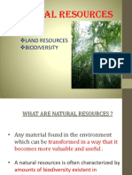 Resources - Land Food Minerals