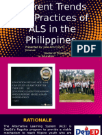 Current Trends and Practices of ALS in the Philippines