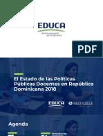 Políticas Docentes. EDUCA PREAL 2018